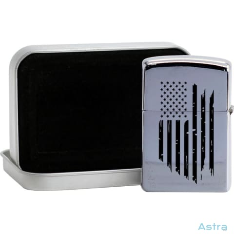 Distressed Flag Flip Lighter Silver Home Decor Flip-Lighter Forth Homedecor Household-1 Independence-Day $19.95 Astraest.com: Astraest