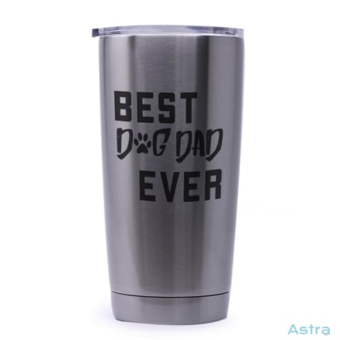 Dog Dad 20Oz Stainless Steel Tumbler Drinkware 20-30 Animal-Lovers Birthday Dog-Items Drinkware $21.99 Astraest.com: Astraest