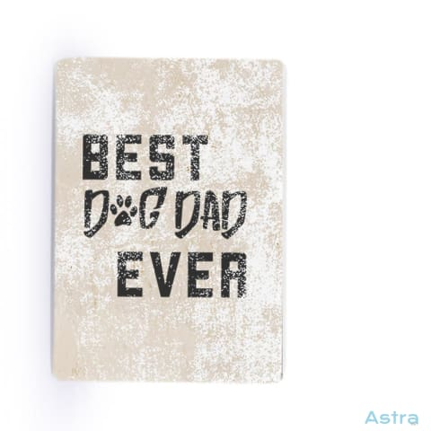 Dog Dad Rectangle Plastic Fridge Magnet Home Decor 10-20 Animal-Lovers Birthday Dog-Items Father $14.99 Astraest.com: Astraest