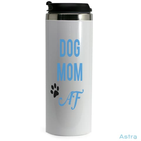 Dog Mom Af 14Oz Stainless Steel Bottle Drinkware Animal-Lovers Birthday Dog-Items Drinkware Mothers-Day $19.99 Astraest.com: Astraest