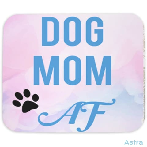 Dog Mom Af Mouse Pad Home Decor 10-20 Animal-Lovers Birthday Cloth Dog-Items $14.99 Astraest.com: Astraest