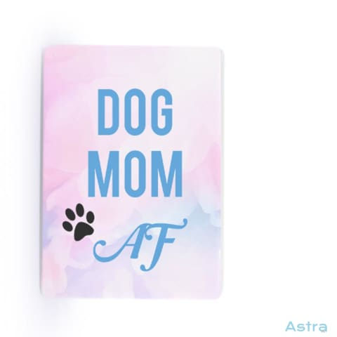 Dog Mom Af Rectangle Plastic Fridge Magnet Home Decor 10-20 Animal-Lovers Birthday Dog-Items Homedecor $14.99 Astraest.com: Astraest