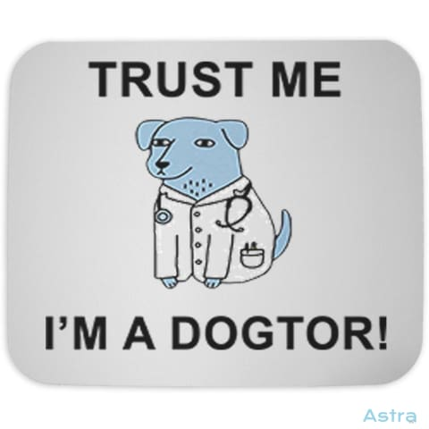 Dogtor Mouse Pad Home Decor Cloth Feature Featured-Products Homedecor Household $10.95 Astraest.com: Astraest