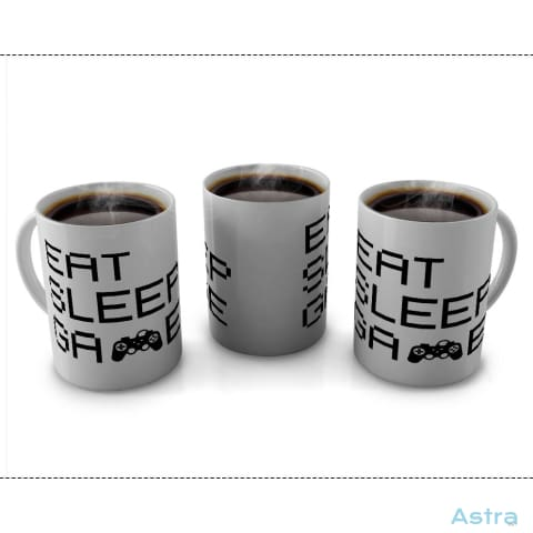Eat Sleep Game 11Oz Coffee Mug Drinkware 10-20 Birthday Blue Ceramic Drinkware $14.99 Astraest.com: Astraest