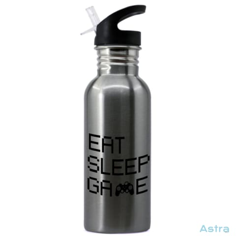 Eat Sleep Game 20Oz Stainless Steel Water Bottle Stainless Drinkware 10-20 Drinkware Fathers-Day Gaming Predrink $16.99 Astraest.com: