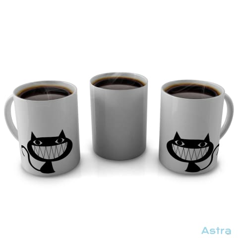 Evil Cat 11Oz Coffee Mug Drinkware 10-20 Blue Ceramic Drinkware Mug $12.99 Astraest.com: Astraest
