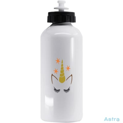 Fall Unicorn 20Oz Aluminum Water Bottle White Drinkware 10-20 Aluminum Autumn Birthday Drinkware $17.99 Astraest.com: Astraest