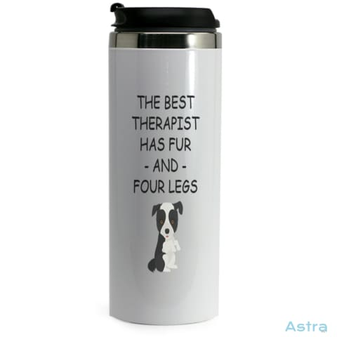 Four Leg Therapist 14Oz Stainless Steel Bottle Drinkware Animal-Lovers Dog-Items Drinkware Mothers-Day Predrink $19.99 Astraest.com: