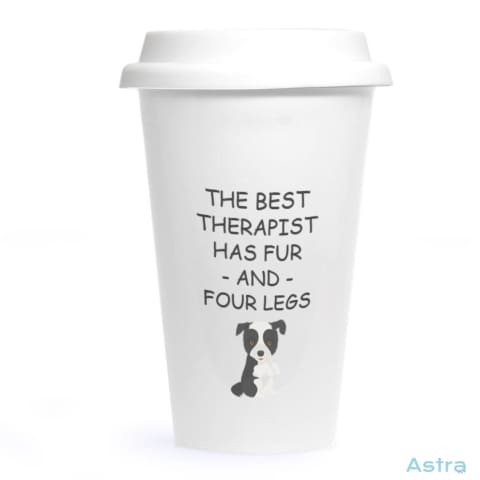Four Leg Therapist Ceramic Travel Tumbler Drinkware 20-30 Animal-Lovers Ceramic Dog-Items Drinkware $24.99 Astraest.com: Astraest