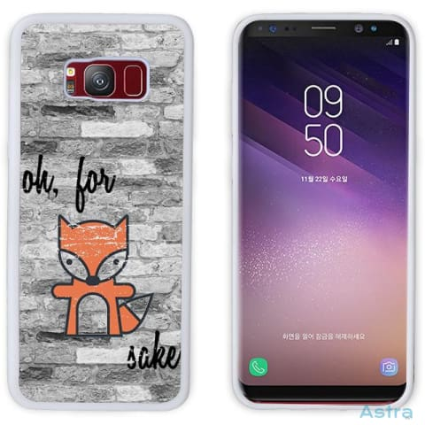 Fox Sake Personalized Iphone 6 7 8 X Samsung S8 S8 Plus Case Phone Case 10-20 Apple Custom Phone Feature Featured-Products $14.99