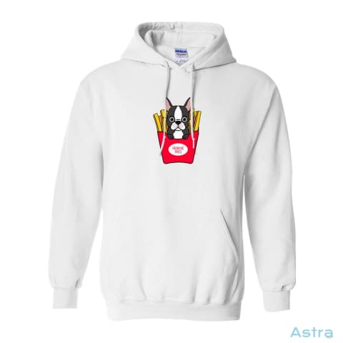 Frenchie Fries Heavy Blend Hooded Sweatshirt Apparel Antique-Sapphire Apparel Clothing Dark-Heather Heliconia $34.95 Astraest.com: Astraest