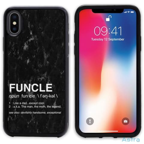 Funcle Personalized Iphone 6 7 8 X Samsung S8 S8 Plus Case Phone Case 10-20 Apple Custom Phone Feature Featured-Products $14.99