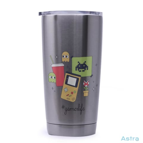#gamerlife 20Oz Stainless Steel Tumbler Drinkware Drinkware Fathers-Day Gaming Predrink Premade $24.99 Astraest.com: Astraest