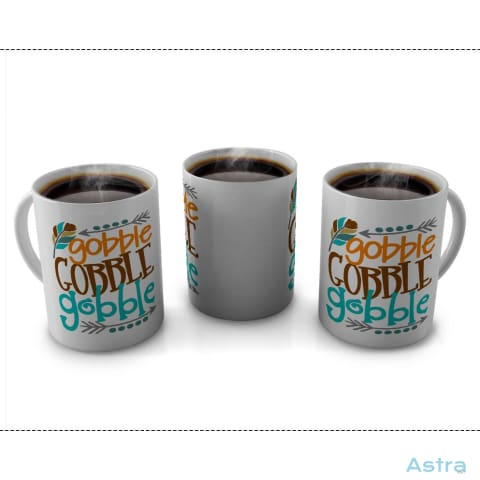 Gobble Gobble Gobble 11Oz Coffee Mug Drinkware 10-20 Autumn Blue Ceramic Drinkware $14.99 Astraest.com: Astraest