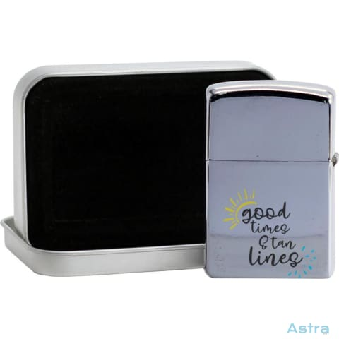 Good Times Flip Lighter Silver Home Decor 10-20 Flip-Lighter Homedecor Household-1 Lighter $19.95 Astraest.com: Astraest