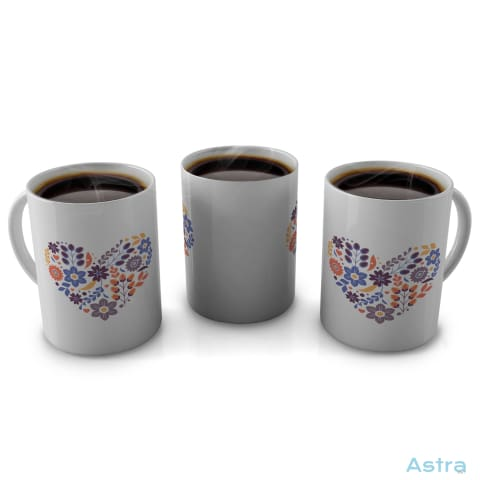 Heart 11Oz Coffee Mug Drinkware 10-20 Blue Ceramic Drinkware Mom $12.99 Astraest.com: Astraest