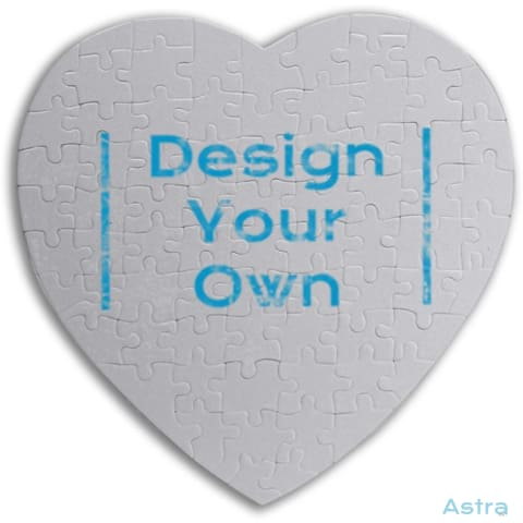 Heart-Shaped Jigsaw Puzzle Custom Home Decor 10-20 Blank Custom_Home Design-Your-Own-1 Dyoh $14.95 Astraest.com: Astraest
