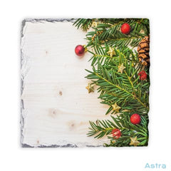 Holiday Square Photo Slate