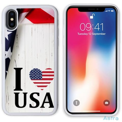 I Heart Usa Personalized Iphone 6 7 8 X Samsung S8 S8 Plus Case Phone Case 10-20 Apple Custom Phone Feature Featured-Products $14.99