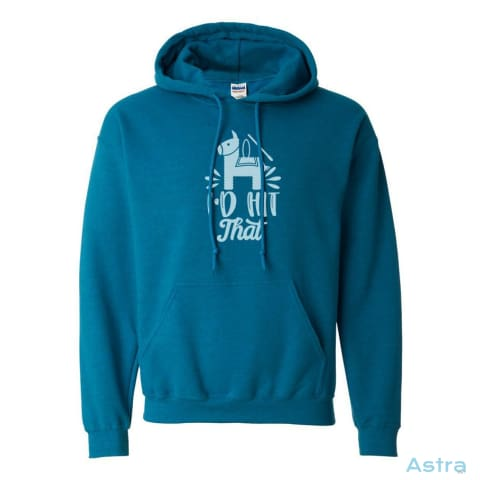 Id Hit That Heavy Blend Hooded Sweatshirt Apparel 30-40 Antique-Sapphire Apparel Clothing Comic $34.95 Astraest.com: Astraest