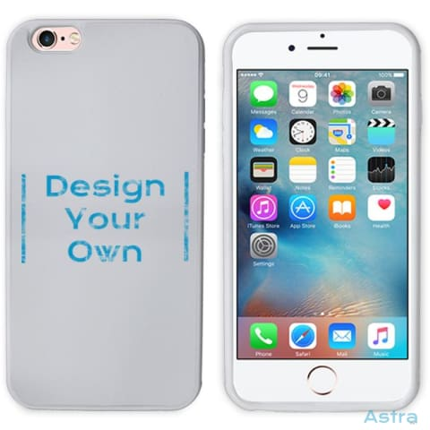 Iphone 6+/6S+ Custom 2D Protective Phone Case White Custom Phone Case 10-20 Apple Blank Custom_Phone Design-Your-Own-1 $14.99 Astraest.com: