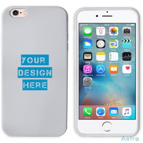 Iphone 6/6S Custom 2D Protective Phone Case White Custom Phone Case 10-20 Blank Custom_Phone Design-Your-Own-1 Dyoi $14.99 Astraest.com: