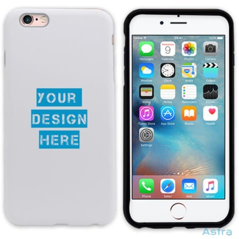 Iphone 6+/6S+ Custom 3D Protective Phone Case Matte / Black Custom Phone Case 10-20 Apple Blank Custom_Phone Design-Your-Own-1 $14.99
