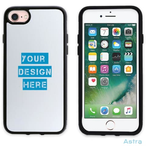 Iphone 7/8 Custom 2D Protective Phone Case Black Custom Phone Case 10-20 Blank Custom_Phone Design-Your-Own-1 Dyoi $14.99 Astraest.com: