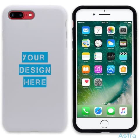 Iphone 7+/8+ Custom 3D Protective Phone Case Matte / Black Custom Phone Case 10-20 Blank Custom_Phone Design-Your-Own-1 Dyoi $14.99