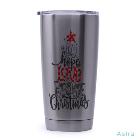 Joy Hope Love 20Oz Stainless Steel Tumbler Drinkware 20-30 Holiday Stainless Stainless-Steel Stainsteel $21.99 Astraest.com: Astraest