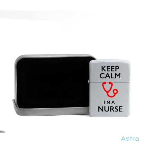 Keep Calm Im A Nurse Flip Lighter White Home Decor 10-20 Flip-Lighter Homedecor Household-1 Lighter $19.95 Astraest.com: Astraest
