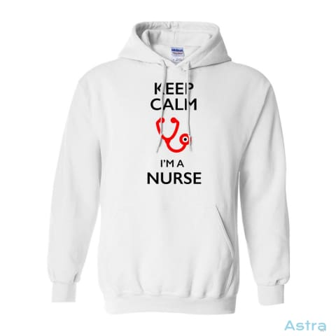 Keep Calm Im A Nurse Heavy Blend Hooded Sweatshirt Apparel 30-40 Animal-Lovers Antique-Sapphire Apparel Birthday $34.95 Astraest.com: