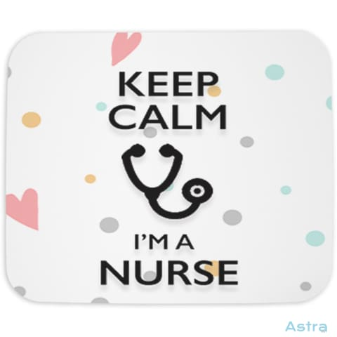 Keep Calm Im A Nurse Mouse Pad Home Decor 10-20 Cloth Homedecor Household Household-1 $14.99 Astraest.com: Astraest