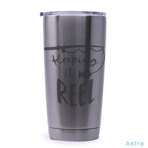 Keeping It Reel 20Oz Stainless Steel Tumbler Drinkware 20-30 Drinkware Fathers-Day Predrink Premade $21.99 Astraest.com: Astraest