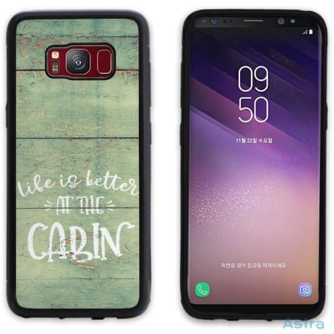 Life At The Cabin Personalized Iphone 6 7 8 X Samsung S8 S8 Plus Case Phone Case 10-20 Apple Custom Phone Feature Featured-Products $14.99
