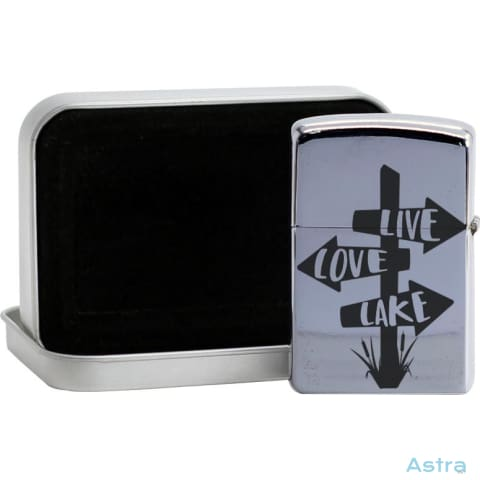 Liver Love Lake Flip Lighter Silver Home Decor 10-20 Flip-Lighter Homedecor Household-1 Lighter $14.99 Astraest.com: Astraest