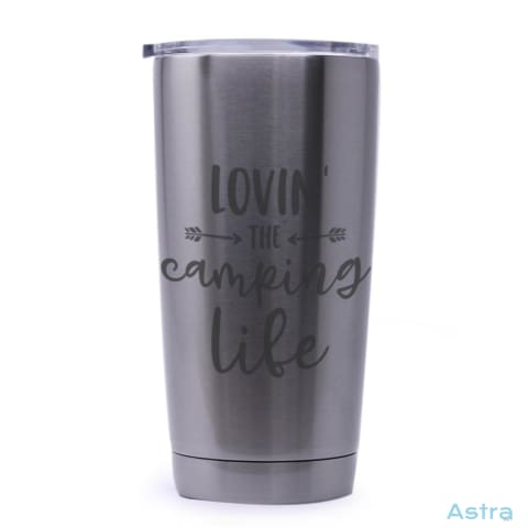Love The Camping Life 20Oz Stainless Steel Tumbler Drinkware Drinkware Mothers-Day Predrink Premade Sayings $29.99 Astraest.com: Astraest