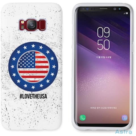 Love The Usa Personalized Iphone 6 7 8 X Samsung S8 S8 Plus Case Phone Case 10-20 Apple Custom Phone Feature Featured-Products $14.99
