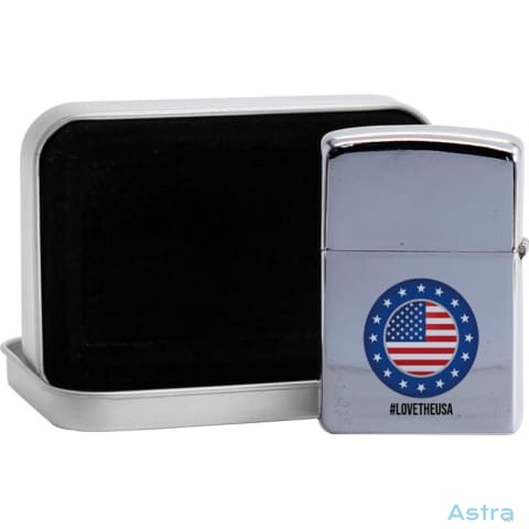 #lovetheusa Flip Lighter Silver Home Decor Flip-Lighter Forth Homedecor Household-1 Independence-Day $19.95 Astraest.com: Astraest
