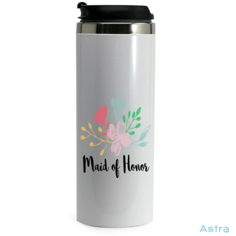 Maid Of Honor 14Oz Stainless Steel Bottle Drinkware Drinkware Predrink Premade Tumbler Water-Bottles $19.99 Astraest.com: Astraest