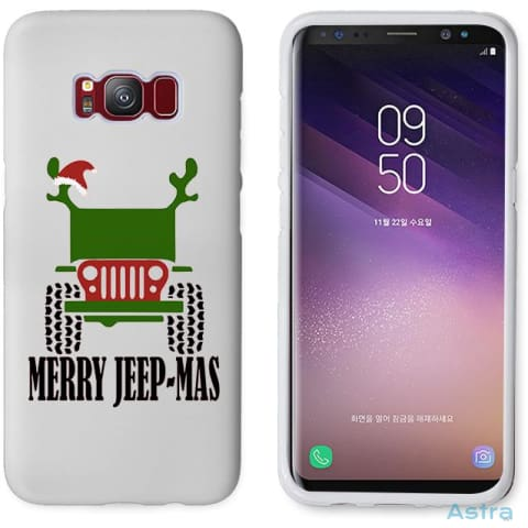 Merry Jeepmas Personalized Iphone 6 7 8 X Samsung S8 S8 Plus Case Phone Case 10-20 Apple Custom Phone Feature Featured-Products $14.99