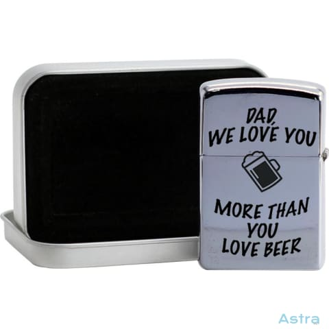 More Than Beer List Flip Lighter Silver Home Decor 10-20 Comic Father Fathers-Day Flip-Lighter $19.95 Astraest.com: Astraest