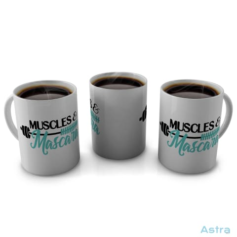 Muscles Mascara 11Oz Coffee Mug Drinkware Blue Ceramic Drinkware Mothers-Day Mug $14.99 Astraest.com: Astraest