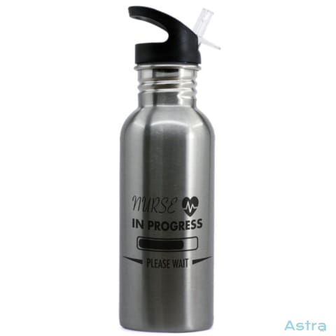 Nurse In Progress 20Oz Stainless Steel Water Bottle Stainless Drinkware Drinkware Nurse Predrink Premade Water-Bottles $16.99 Astraest.com: