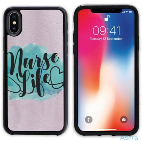 Nurse Life 2 Personalized Iphone 6 7 8 X Samsung S8 S8 Plus Case Phone Case 10-20 Apple Custom Phone Feature Featured-Products $14.99