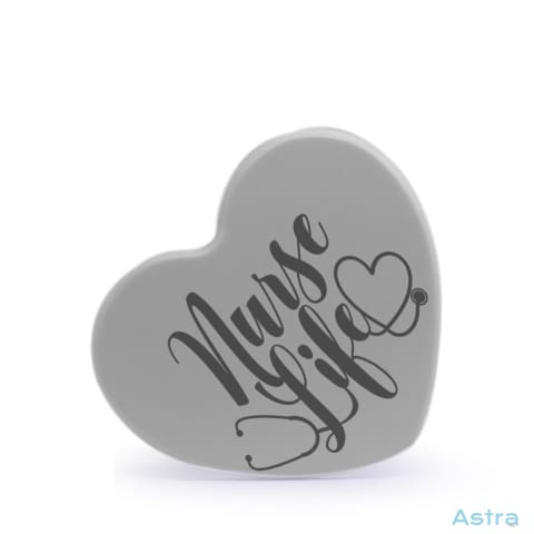 Nurse Life Heart Shaped Plastic Fridge Magnet Home Decor 10-20 Homedecor Household-1 Magnet Magnets $12.95 Astraest.com: Astraest