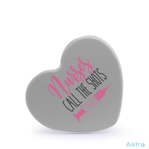 Nurses Call The Shots Heart Shaped Plastic Fridge Magnet Home Decor Homedecor Household-1 Magnet Magnets Nurse $12.95 Astraest.com: Astraest