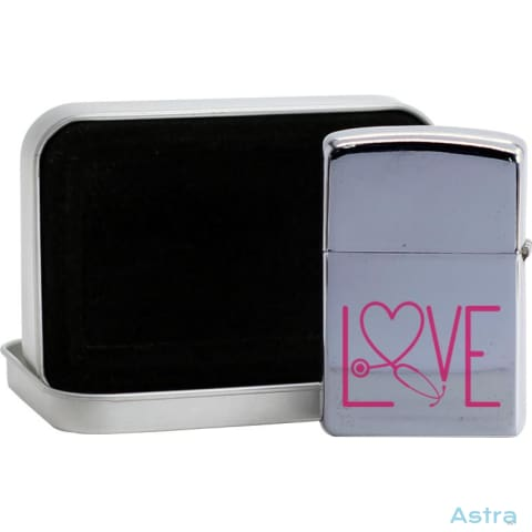 Nursing Love Flip Lighter Silver Home Decor 10-20 Flip-Lighter Homedecor Household-1 Lighter $19.95 Astraest.com: Astraest