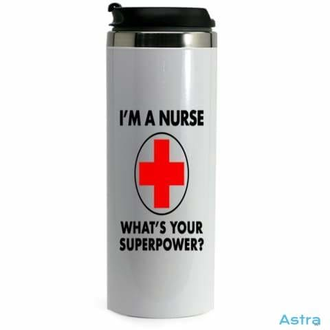 Nursing Superpower 14Oz Stainless Steel Bottle Drinkware 10-20 Drinkware Feature Featured-Products Mothers-Day $17.99 Astraest.com: Astraest