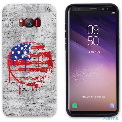 Painted Flag Personalized Iphone 6 7 8 X Samsung S8 S8 Plus Case Phone Case 10-20 Apple Custom Phone Feature Featured-Products $14.99